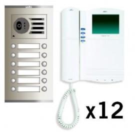 Kits VideoCitofonía para Edificios