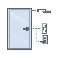 Dispositivos para controlar puertas abrir o cerrar y permitir el ingreso solo a los autorizados