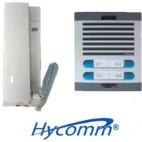 Kits de Citófonos para edificios con equipos de la marca Hycomm