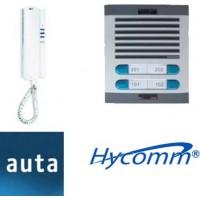 Kits de Citofonía con Frentes de Calle marca Hycomm y Citófonos marca Auta