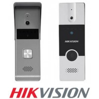 Catálogo y Precios de las TeleCámaras o Frentes de Calle para VideoPorteros de la marca Hikvision