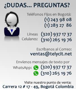 Teléfonos Correo y Dirección de la empresa en Bogotá