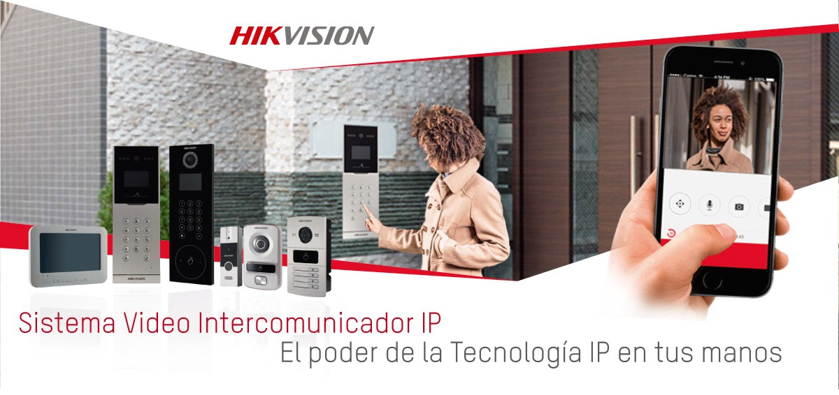 Videoportero Ip hikvision