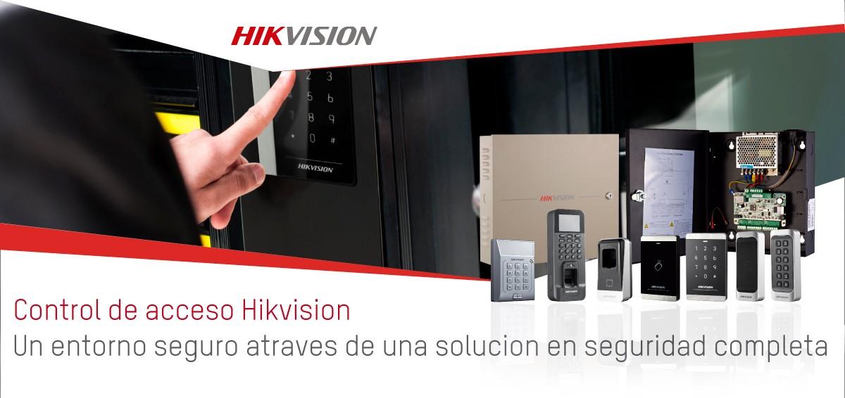 Control de Acceso de Hikvision