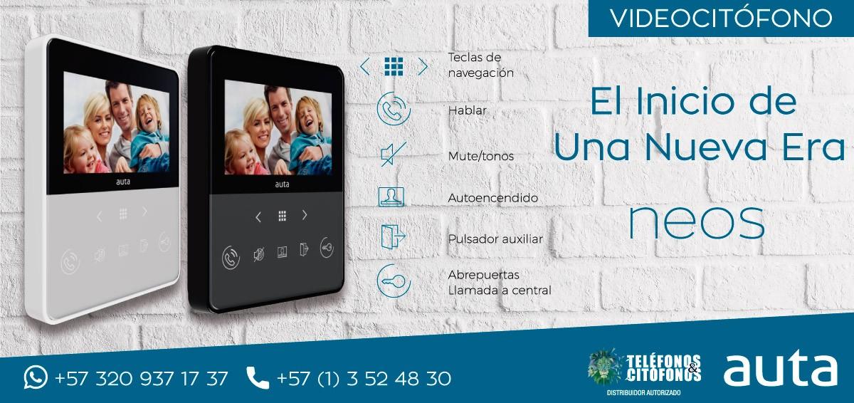 Nuevo Monitor Auta Neos VideoCitofono Digital
