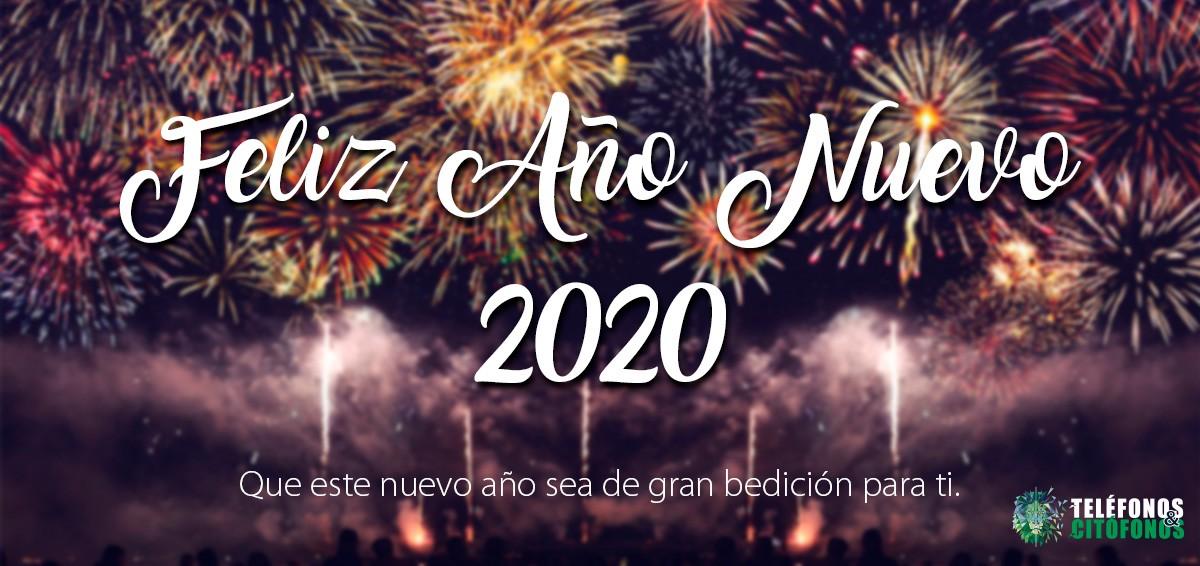 Te Deseamos un Año Nuevo Lleno de Bendiciones